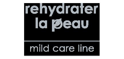 rehydrater la peau mild care line