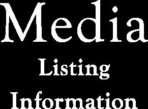 Media Listing Infomation